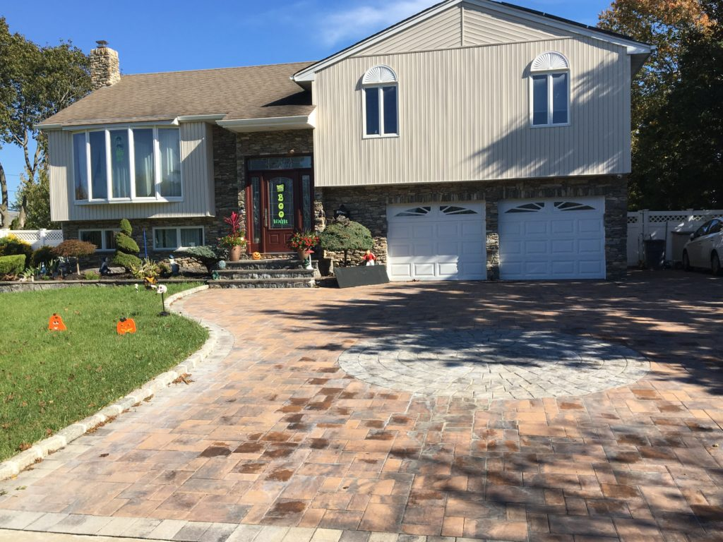 Driveway Paving with Paver Stones