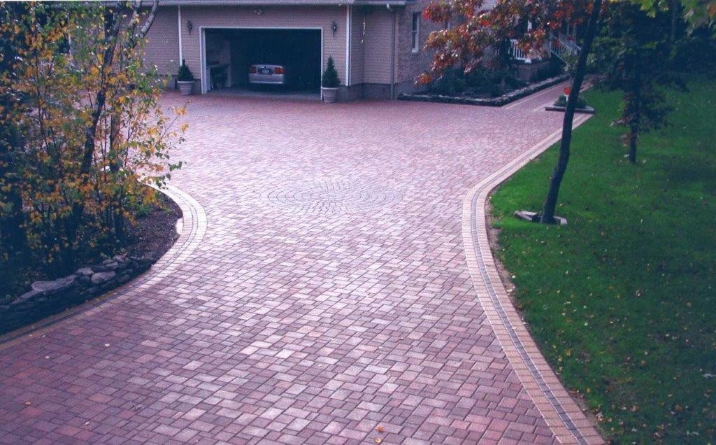 Brick Driveway